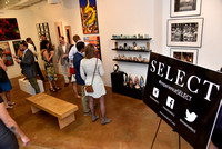 SELECT hosted a private gallery showing for its members