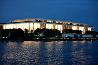 The John F. Kennedy Center for the Performing Arts at Night