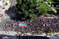 Equality March Aerial Photo