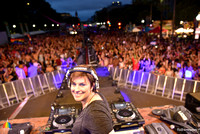 Washington DC's DJ Tracy Young Spinning at The Capital Pride Concert, Sunset Dance Party