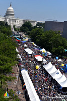 Capital Pride 2017 Aerial Crowd Shots